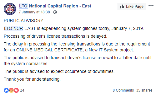 Guidelines for getting driver's license