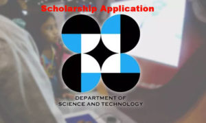 DOST Scholarship Application