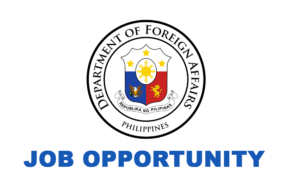 DFA Job Vacancies