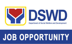 DSWD Job Vacancies
