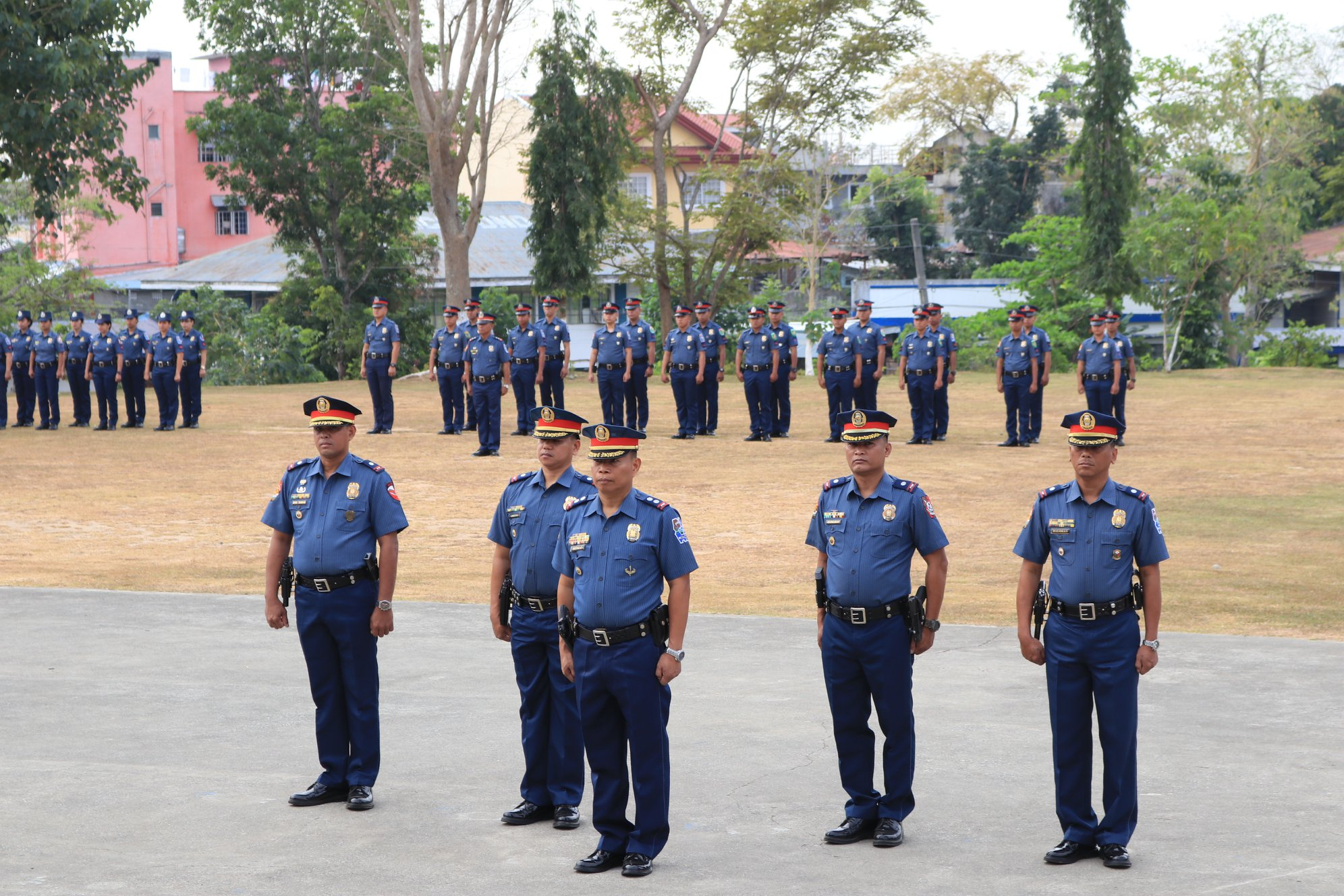 Recruitment of 10,000 police officers, currently being done