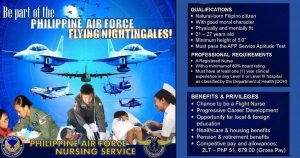 Philippine Air Force Hiring Nurses