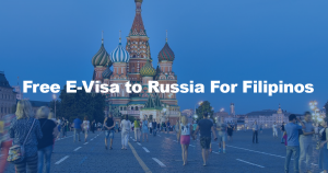 Free-E-Visa-to-Russia for Fiilipinos