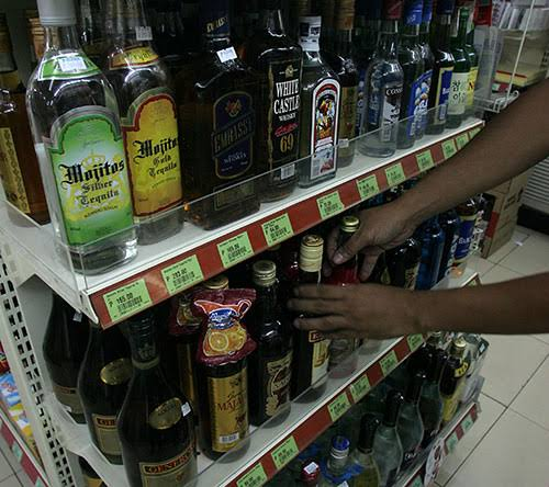 FDA Orders to Hide Alcoholic Beverages in all Stores