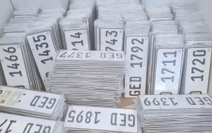 LTO Release Partial License Plates from 2016