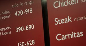 Calorie Count and Nutritional Information