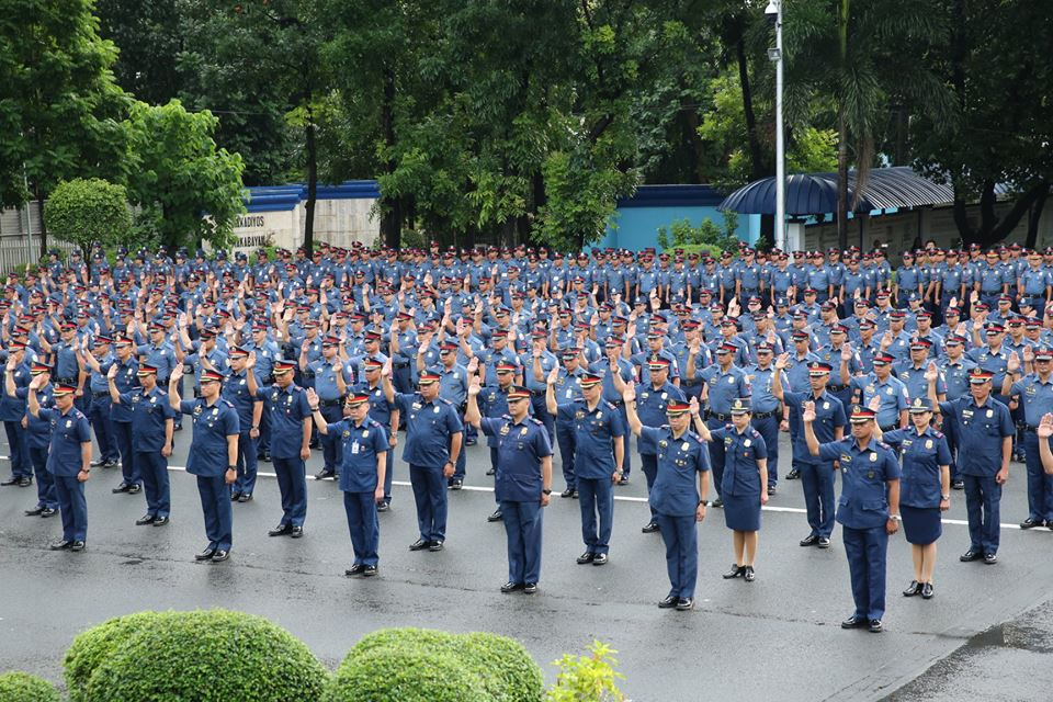 The PNP to hire 17,000 new recruits this 2020