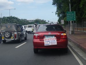 15-hour seminar for student permits to be required by the LTO