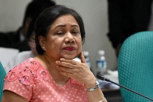 Cynthia Villar resisted the financial assistance to Middle-Class Families