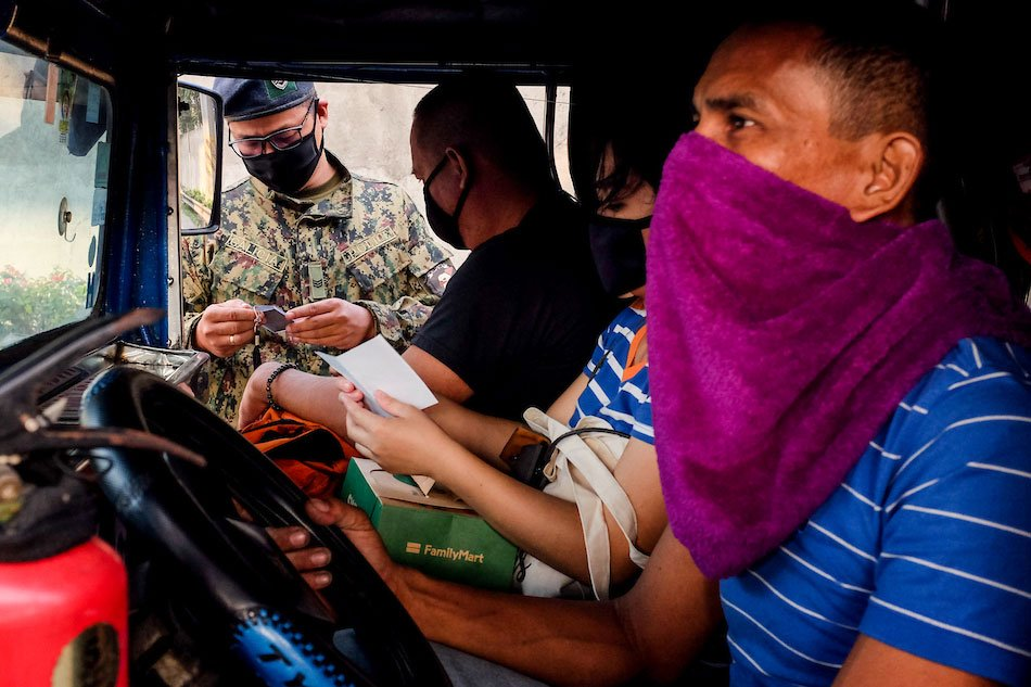 Cash Aid for Jeepney Drivers