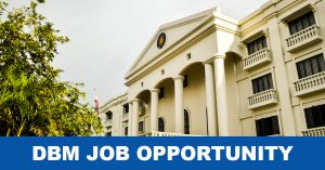 DBM Job Vacancies